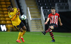 WOLVERHAMPTON, ENGLAND - MARCH 05:  Tom O'Connor  (right) during the PL2 U23's match between Wolverhampton Wanders and Southampton FC at Molineux Stadium in Wolverhampton, England, on March 05, 2019 (Photo by James Bridle - Southampton FC/Southampton FC via Getty Images)