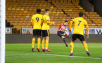 WOLVERHAMPTON, ENGLAND - MARCH 05:  Tom O'Connor takes a free kick for Southampton FC during the PL2 U23's match between Wolverhampton Wanders and Southampton FC at Molineux Stadium in Wolverhampton, England, on March 05, 2019 (Photo by James Bridle - Southampton FC/Southampton FC via Getty Images)