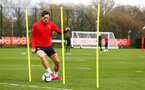 SOUTHAMPTON, ENGLAND - MARCH 13: Sam Gallagher during a Southampton FC training session at Staplewood Complex on March 18, 2019 in Southampton, England. (Photo by James Bridle - Southampton FC/Southampton FC via Getty Images)