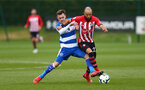 Nathan Redmond during a friendly match between Southampton and QPR, at the Staplewood Campus, Southampton, 20th March 2019