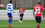 Jack Stephens during a friendly match between Southampton and QPR, at the Staplewood Campus, Southampton, 20th March 2019