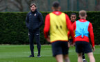 Ralph Hasenhuttl during Southampton FC training session at the Staplewood Campus, Southampton, 22nd March 2019
