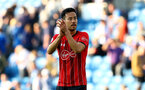 BRIGHTON, ENGLAND - MARCH 30: Maya Yoshida of Southampton during the Premier League match between Brighton & Hove Albion and Southampton FC at American Express Community Stadium on March 30, 2019 in Brighton, United Kingdom. (Photo by Matt Watson/Southampton FC via Getty Images)