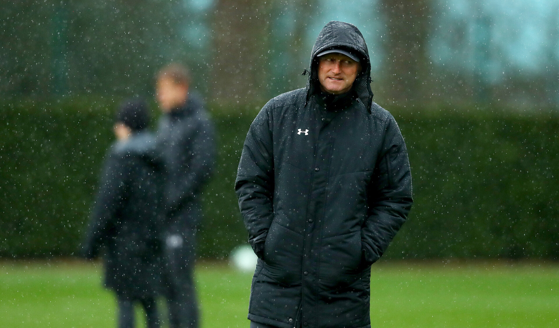 SOUTHAMPTON, ENGLAND - APRIL 04: Ralph Hasenhuttl during a Southampton FC training session at the Staplewood Campus on April 04, 2019 in Southampton, England. (Photo by Matt Watson/Southampton FC via Getty Images)