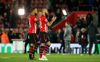 SOUTHAMPTON, ENGLAND - APRIL 05: Nathan Redmond during the Premier League match between Southampton FC and Liverpool FC at St Mary's Stadium on April 5th, 2019 in Southampton, United Kingdom. (Photo by Chris Moorhouse/Southampton FC via Getty Images)