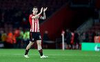 SOUTHAMPTON, ENGLAND - APRIL 05: Pierre-Emile Hojbjerg of Southampton during the Premier League match between Southampton FC and Liverpool FC at St Mary's Stadium on April 6, 2019 in Southampton, United Kingdom. (Photo by Matt Watson/Southampton FC via Getty Images)
