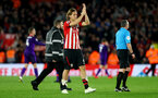 SOUTHAMPTON, ENGLAND - APRIL 05: Jannik Vestergaard of Southampton during the Premier League match between Southampton FC and Liverpool FC at St Mary's Stadium on April 6, 2019 in Southampton, United Kingdom. (Photo by Matt Watson/Southampton FC via Getty Images)