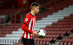 SOUTHAMPTON, ENGLAND - APRIL 10: Will Smallbone walks to the corner flag for a corner during the International PL Cup match between Southampton FC and Dinamo Zagreb, pictured at St. Mary's Stadium on April 10, 2019 in Southampton, England. (Photo by James Bridle - Southampton FC/Southampton FC via Getty Images) (Photo by James Bridle - Southampton FC/Southampton FC via Getty Images)