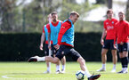 SOUTHAMPTON, ENGLAND - APRIL 11: James Ward-Prowse during a Southampton FC training session at the Staplewood Campus on April 11, 2019 in Southampton, England. (Photo by Matt Watson/Southampton FC via Getty Images)