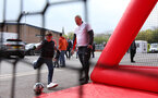 SOUTHAMPTON, ENGLAND - APRIL 13: Saints Foundation before the Premier League match between Southampton FC and Wolverhampton Wanderers at St Mary's Stadium on April 13, 2019 in Southampton, United Kingdom. (Photo by Chris Moorhouse/Southampton FC via Getty Images)