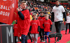 SOUTHAMPTON, ENGLAND - APRIL 13: Saints Foundation parade during the Premier League match between Southampton FC and Wolverhampton Wanderers at St Mary's Stadium on April 13, 2019 in Southampton, United Kingdom. (Photo by Chris Moorhouse/Southampton FC via Getty Images)