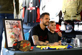 Ings meets Saints fans at Stadium Store