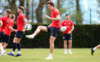 SOUTHAMPTON, ENGLAND - APRIL 18: Sam Gallagher during a Southampton FC training session at the Staplewood Campus on April 18, 2019 in Southampton, England. (Photo by Matt Watson/Southampton FC via Getty Images)