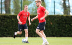 SOUTHAMPTON, ENGLAND - APRIL 18: James Ward-Prowse during a Southampton FC training session at the Staplewood Campus on April 18, 2019 in Southampton, England. (Photo by Matt Watson/Southampton FC via Getty Images)