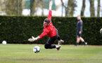 SOUTHAMPTON, ENGLAND - APRIL 18: Fraser Forster during a Southampton FC training session at the Staplewood Campus on April 18, 2019 in Southampton, England. (Photo by Matt Watson/Southampton FC via Getty Images)