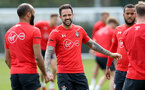 SOUTHAMPTON, ENGLAND - APRIL 18: Danny Ings during a Southampton FC training session at the Staplewood Campus on April 18, 2019 in Southampton, England. (Photo by Matt Watson/Southampton FC via Getty Images)