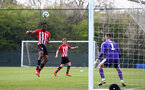 WEST BROMWICH, ENGLAND - APRIL 18: during the Under 23s PL2 match between West Bromwich and Southampton FC pictured on April 18, 2019 in West Bromwich, England. (Photo by James Bridle - Southampton FC/Southampton FC via Getty Images)