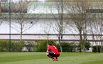 WEST BROMWICH, ENGLAND - APRIL 18: Jake Vokins of Southampton after the final whistle is blown the Under 23s PL2 match between West Bromwich and Southampton FC pictured on April 18, 2019 in West Bromwich, England. (Photo by James Bridle - Southampton FC/Southampton FC via Getty Images)