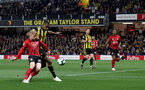 WATFORD, ENGLAND - APRIL 23: Josh Sims of during the Premier League match between Watford FC and Southampton FC at Vicarage Road on April 23, 2019 in Watford, United Kingdom. (Photo by Matt Watson/Southampton FC via Getty Images)