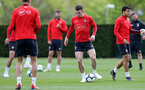 SOUTHAMPTON, ENGLAND - APRIL 25: Pierre-Emile Hojbjerg during a Southampton FC training session at the Staplewood Campus on April 25, 2019 in Southampton, England. (Photo by Matt Watson/Southampton FC via Getty Images)
