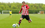 NORWICH, ENGLAND - APRIL 27: Kornelius Hansen during a U18 Premier League match between Norwich City FC and Southampton FC pictured at Colney Training Ground on April 27, 2019 in Norwich, England. (Photo by James Bridle - Southampton FC/Southampton FC via Getty Images)