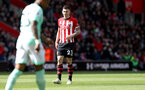 SOUTHAMPTON, ENGLAND - APRIL 27: Pierre-Emile Hojbjerg of Southampton during the Premier League match between Southampton FC and AFC Bournemouth at St Mary's Stadium on April 27, 2019 in Southampton, United Kingdom. (Photo by Matt Watson/Southampton FC via Getty Images)