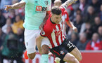 SOUTHAMPTON, ENGLAND - APRIL 27: Pierre-Emile Hojbjerg during the Premier League match between Southampton FC and AFC Bournemouth at St Mary's Stadium on April 27, 2019 in Southampton, United Kingdom. (Photo by Chris Moorhouse/Southampton FC via Getty Images)