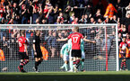 SOUTHAMPTON, ENGLAND - APRIL 27: Bournemouth equaliser for 3-3 during the Premier League match between Southampton FC and AFC Bournemouth at St Mary's Stadium on April 27, 2019 in Southampton, United Kingdom. (Photo by Chris Moorhouse/Southampton FC via Getty Images)