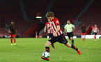 SOUTHAMPTON, ENGLAND - APRIL 29: Jake Vokins  during the Premier League 2 match between Southampton FC and Sunderland pictured at St Mary's Stadium on April 29, 2019 in Southampton, England. (Photo by James Bridle - Southampton FC/Southampton FC via Getty Images)
