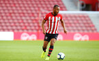 SOUTHAMPTON, ENGLAND - APRIL 29: Tyreke Johnson during the Premier League 2 match between Southampton FC and Sunderland pictured at St Mary's Stadium on April 29, 2019 in Southampton, England. (Photo by James Bridle - Southampton FC/Southampton FC via Getty Images)