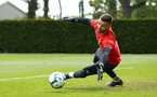 SOUTHAMPTON, ENGLAND - MAY 02:  Angus Gunn during a Southampton FC training session pictured at Staplewood Complex on May 2, 2019 in Southampton, England. (Photo by James Bridle - Southampton FC/Southampton FC via Getty Images)