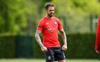 SOUTHAMPTON, ENGLAND - MAY 02:  Danny Ings during a Southampton FC training session pictured at Staplewood Complex on May 2, 2019 in Southampton, England. (Photo by James Bridle - Southampton FC/Southampton FC via Getty Images)