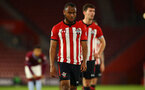 SOUTHAMPTON, ENGLAND - MAY 03: Tyreke Johnson during the U23s PL2 Play off Semi-Final between Southampton FC and Aston Villa FC pictured at St Mary's Stadium on May 03, 2019 in Southampton, England. (Photo by James Bridle - Southampton FC/Southampton FC via Getty Images)