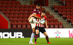 SOUTHAMPTON, ENGLAND - MAY 03: Will Ferry  (right) during the U23s PL2 Play off Semi-Final between Southampton FC and Aston Villa FC pictured at St Mary's Stadium on May 03, 2019 in Southampton, England. (Photo by James Bridle - Southampton FC/Southampton FC via Getty Images)