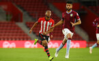 SOUTHAMPTON, ENGLAND - MAY 03: Tyreke Johnson (left) of Southampton during the U23s PL2 Play off Semi-Final between Southampton FC and Aston Villa FC pictured at St Mary's Stadium on May 03, 2019 in Southampton, England. (Photo by James Bridle - Southampton FC/Southampton FC via Getty Images)