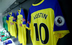LONDON, ENGLAND - MAY 04: Inside the Southampton FC dressing room ahead of the Premier League match between West Ham United and Southampton FC at the London Stadium on May 04, 2019 in London, United Kingdom. (Photo by Matt Watson/Southampton FC via Getty Images)