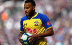 LONDON, ENGLAND - MAY 04: Ryan Bertrand of Southampton during the Premier League match between West Ham United and Southampton FC at the London Stadium on May 04, 2019 in London, United Kingdom. (Photo by Matt Watson/Southampton FC via Getty Images)