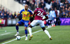 LONDON, ENGLAND - MAY 04: Nathan Redmond of Southampton during the Premier League match between West Ham United and Southampton FC at the London Stadium on May 04, 2019 in London, United Kingdom. (Photo by Matt Watson/Southampton FC via Getty Images)