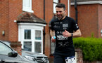 Former Saints Francis Benali during the ABP Southampton Marathon as part of his IronFran challenge, Riverside Park, Southampton, 5th May 2019