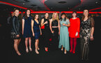 SOUTHAMPTON, ENGLAND - MAY 07:  Women's first team and coaching staff during the Southampton FC 2018/19 Player Awards pictured at St Marys Stadium on May 7, 2019 in Southampton, England. (Photo by James Bridle - Southampton FC/Southampton FC via Getty Images)