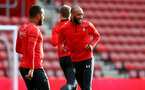 SOUTHAMPTON, ENGLAND - MAY 08: Nathan Redmond during a Southampton FC open training session at St Mary's Stadium on May 08, 2019 in Southampton, England. (Photo by Matt Watson/Southampton FC via Getty Images)