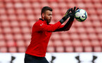 SOUTHAMPTON, ENGLAND - MAY 08: Angus Gunn during a Southampton FC open training session at St Mary's Stadium on May 08, 2019 in Southampton, England. (Photo by Matt Watson/Southampton FC via Getty Images)