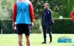 SOUTHAMPTON, ENGLAND - MAY 10: Ralph Hasenhuttl during a Southampton FC training session at the Staplewood Campus on May 10, 2019 in Southampton, England. (Photo by Matt Watson/Southampton FC via Getty Images)