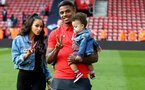 SOUTHAMPTON, ENGLAND - MAY 12: Mario Lemina during the Premier League match between Southampton FC and Huddersfield Town at St Mary's Stadium on May 12, 2019 in Southampton, United Kingdom. (Photo by Matt Watson/Southampton FC via Getty Images)