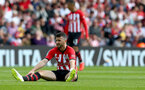 SOUTHAMPTON, ENGLAND - MAY 12: Shane Long of Southampton during the Premier League match between Southampton FC and Huddersfield Town at St Mary's Stadium on May 12, 2019 in Southampton, United Kingdom. (Photo by Matt Watson/Southampton FC via Getty Images)