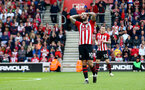 SOUTHAMPTON, ENGLAND - MAY 12: Charlie Austin during the Premier League match between Southampton FC and Huddersfield Town at St Mary's Stadium on May 12, 2019 in Southampton, United Kingdom. (Photo by Matt Watson/Southampton FC via Getty Images)