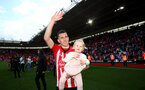 SOUTHAMPTON, ENGLAND - MAY 12: Pierre-Emile Hojbjerg during the Premier League match between Southampton FC and Huddersfield Town at St Mary's Stadium on May 12, 2019 in Southampton, United Kingdom. (Photo by Matt Watson/Southampton FC via Getty Images)