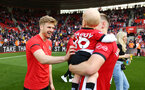 SOUTHAMPTON, ENGLAND - MAY 12: during the Premier League match between Southampton FC and Huddersfield Town at St Mary's Stadium on May 12, 2019 in Southampton, United Kingdom. (Photo by James Bridle - Southampton FC/Southampton FC via Getty Images)