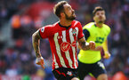 SOUTHAMPTON, ENGLAND - MAY 12: Danny Ings during the Premier League match between Southampton FC and Huddersfield Town at St Mary's Stadium on May 12, 2019 in Southampton, United Kingdom. (Photo by James Bridle - Southampton FC/Southampton FC via Getty Images)