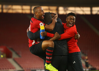 Gallery: Saints win PL2 play-off final
